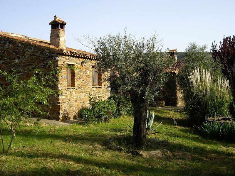 Modern Farmhouse in Valencia de Alcántara with Pool, location de vacances à Mosteiros