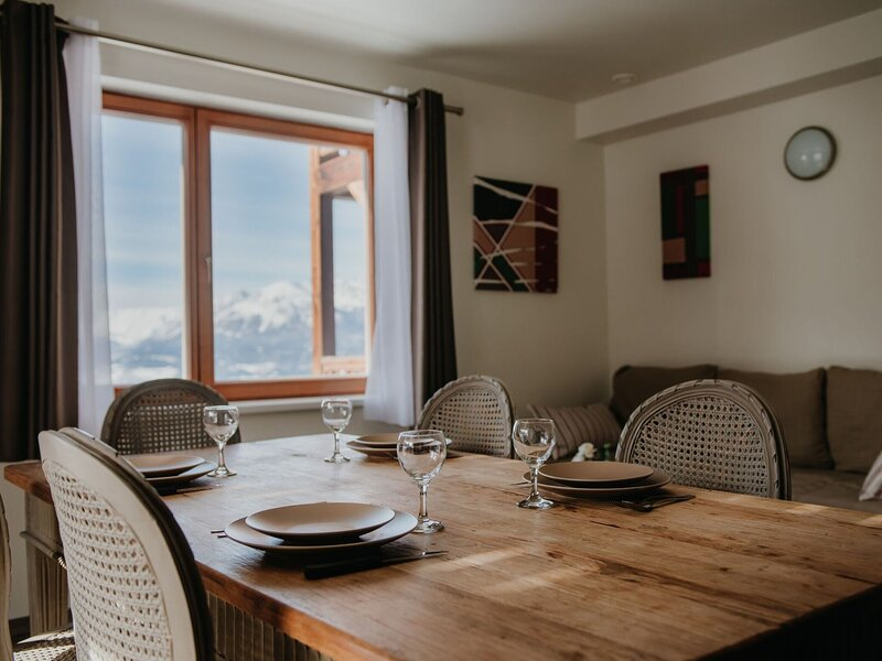 Nice residence for families in southern Les Orres, Ferienwohnung in Les Orres