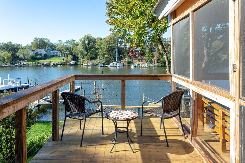 NEW! | WATERFRONT|Calming Paradise|Close to BWI, aluguéis de temporada em Severn