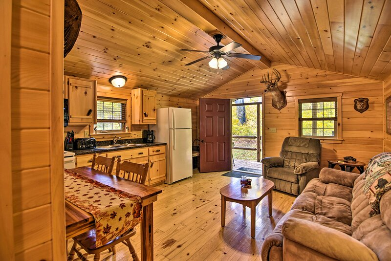NEW! 'Hooah' Cabin Retreat w/ Grill & Step Free!, vacation rental in Elkins