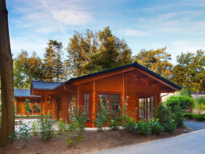 Nice chalet with outdoor sauna, close to De Veluwe, casa vacanza a Lunteren