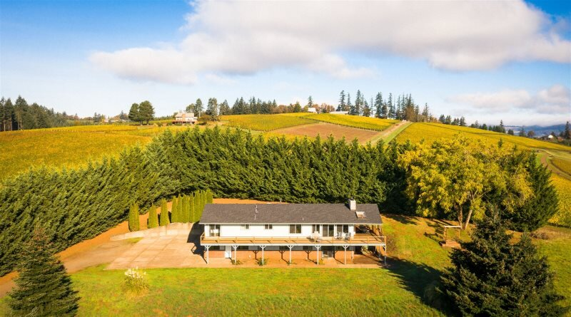 Henry's Hideout: 4-King Bedroom Vineyard View Estate, vacation rental in Yamhill