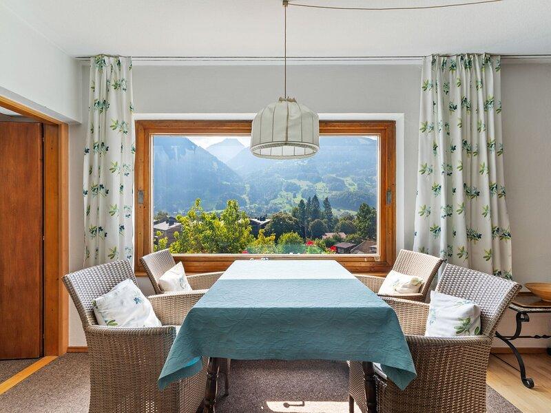 Heavenly Apartment in Schruns near Hochjohn Bahn Ski Lift, holiday rental in Bartholomaeberg