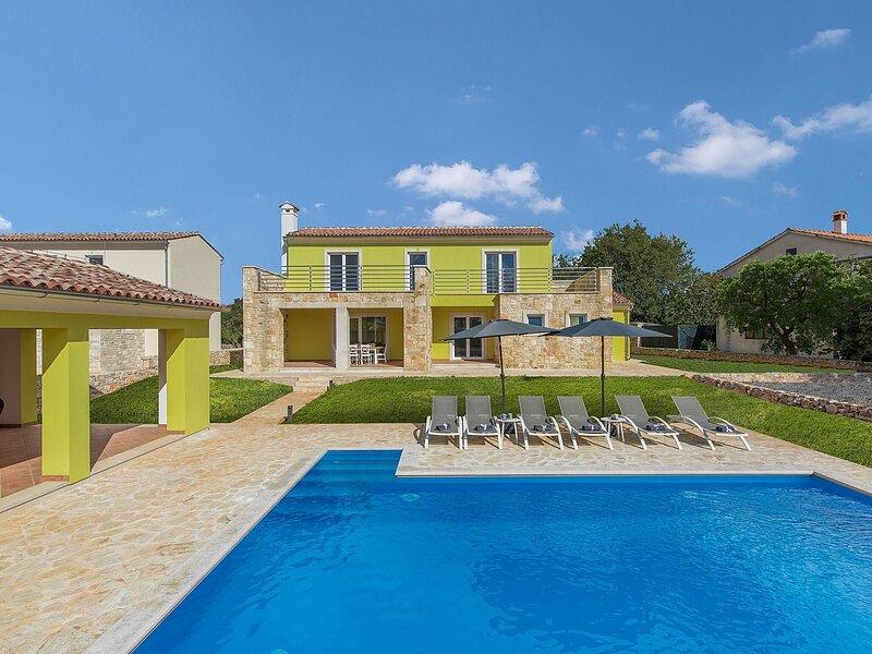 Luxury, modernly furnished villa with private pool near Rovinj, location de vacances à Brajkovici