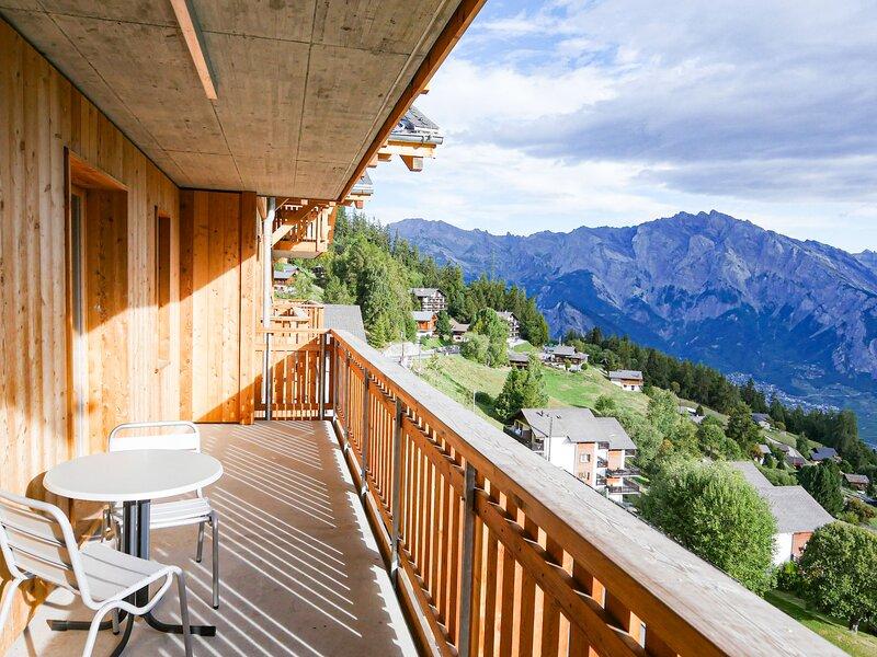 T-Resort La Tzoumaz 2p4 vue vallée, holiday rental in Riddes