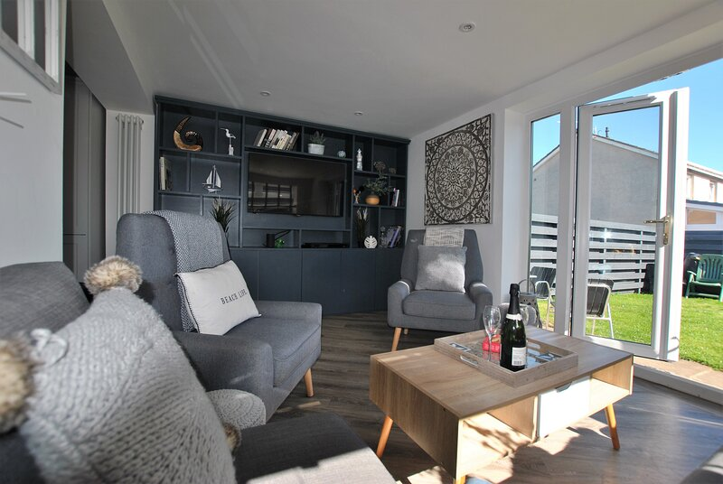 Driftwood- bright and modern family home, Crail, alquiler vacacional en Crail
