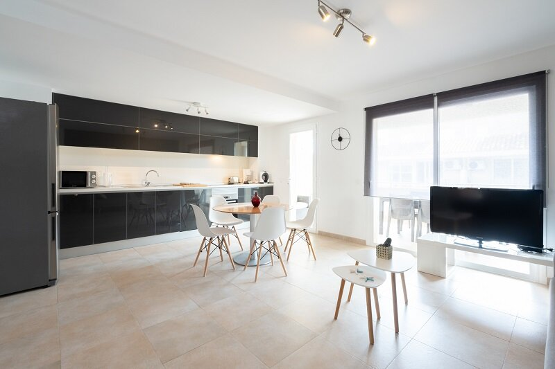 Penthouse:private terraces,WIFI 600 mb (perfect smartworking), A/C (c/w), Tvsat, vacation rental in Colonia de Sant Jordi