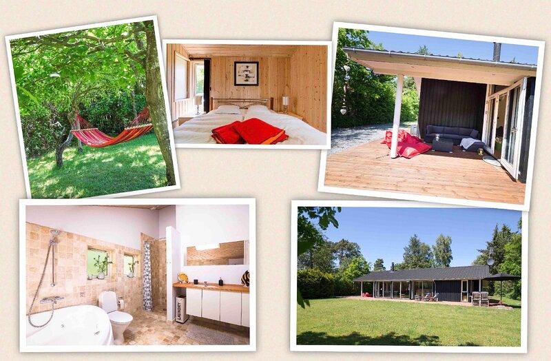 Beautiful 3-Bedroom Cottage near Liseleje, aluguéis de temporada em Jaegerspris