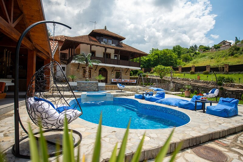 Villa 'VALJEVSKA OAZA ' is made for all of you who want a luxurious vacation in, holiday rental in Central Serbia