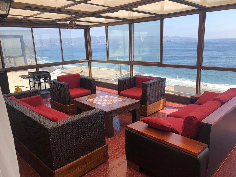 appart 3 chambres Viña del Mar  Chili Proximité plage et centre de Reñaca, holiday rental in Vina del Mar