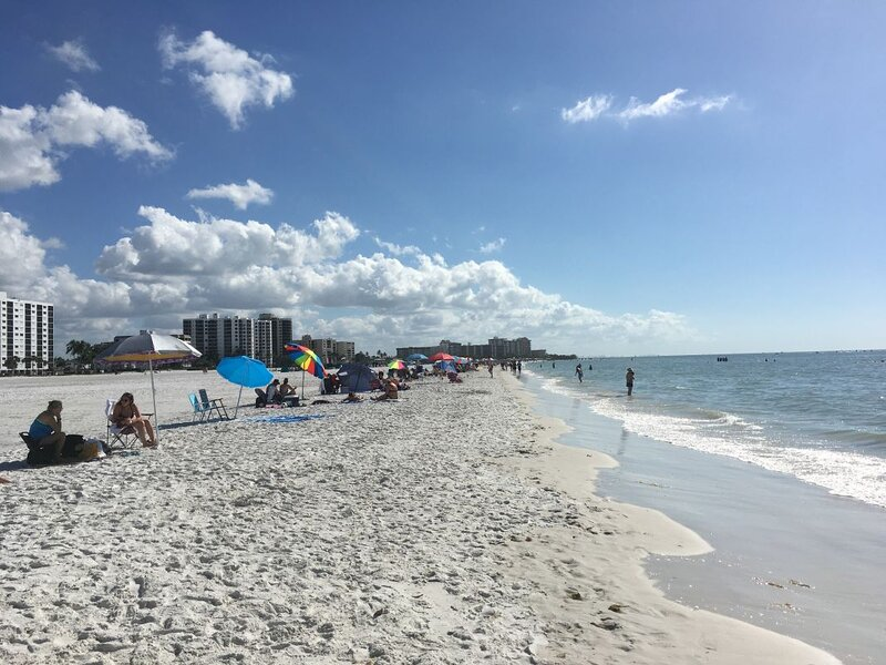 Naples Beach - White Sand, Emerald Green Water, Dolphins & More