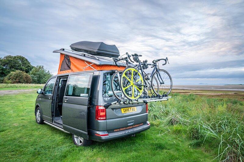 VW Campervan Hire Scotland - Classic Camper Holidays - Heather, holiday rental in Denholm
