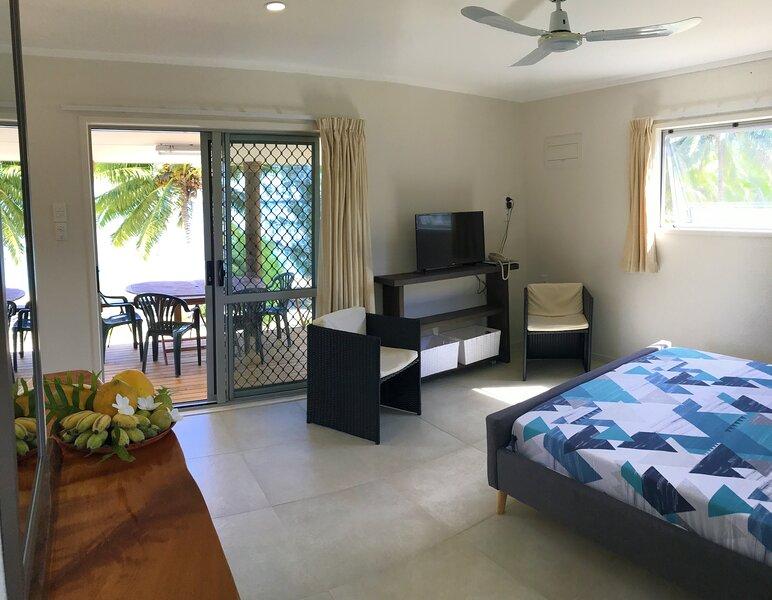 Tai Marino - Beach Bungalow 1, aluguéis de temporada em Aitutaki