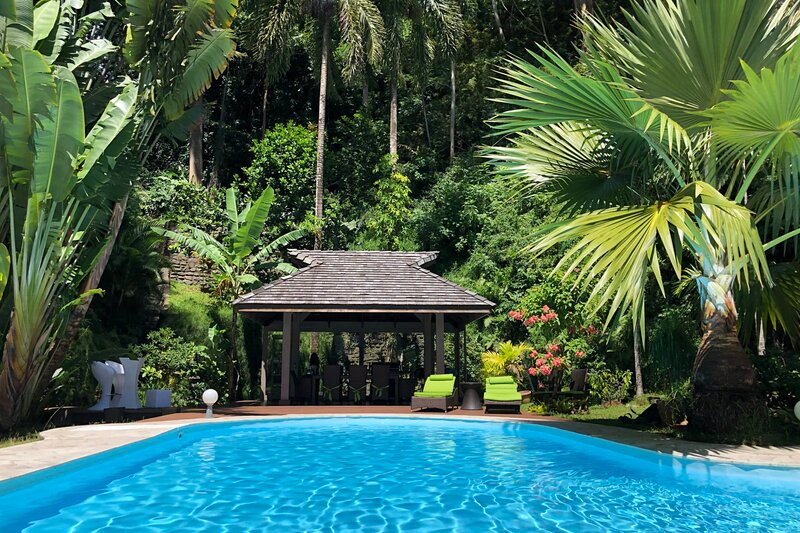 Villa Jo Mahina with pool, vacation rental in Arue