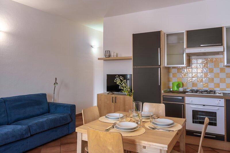 Appartamento Bilocale 5 persone Cristal Blu, holiday rental in Terravecchia-portoquadro