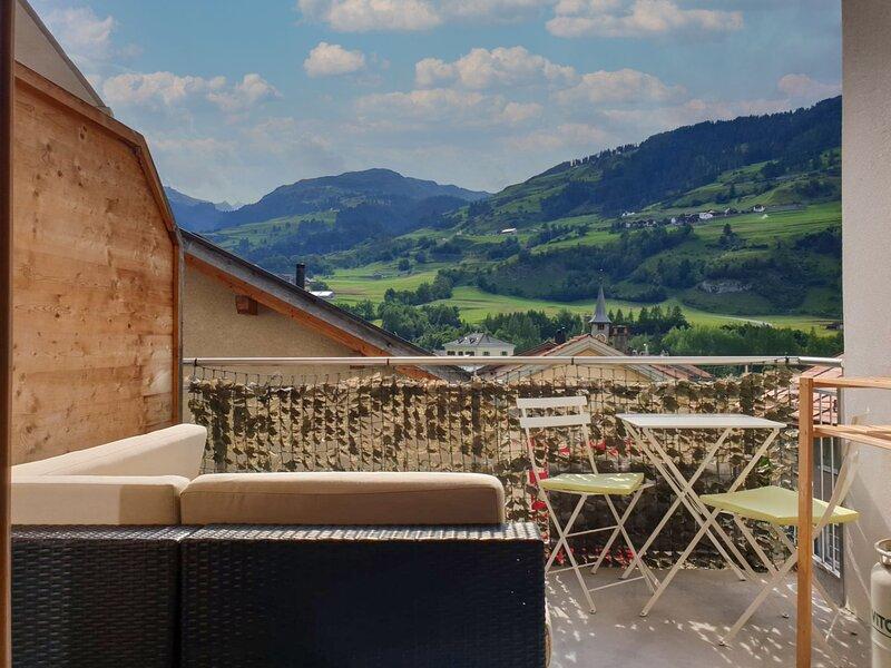 Tga da Plaz, holiday rental in Wergenstein