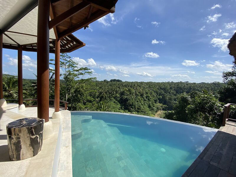 VILLA DHYAN - Romantic Artist Hideaway with Amazing 'AyungRiver ' View – semesterbostad i Ubud