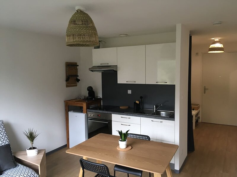 Beautiful studio in Ploërmel & Wifi, vacation rental in Mauron