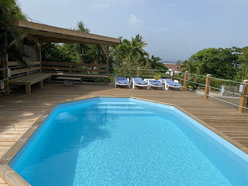 Amazing villa with swimming-pool, holiday rental in Le Vauclin