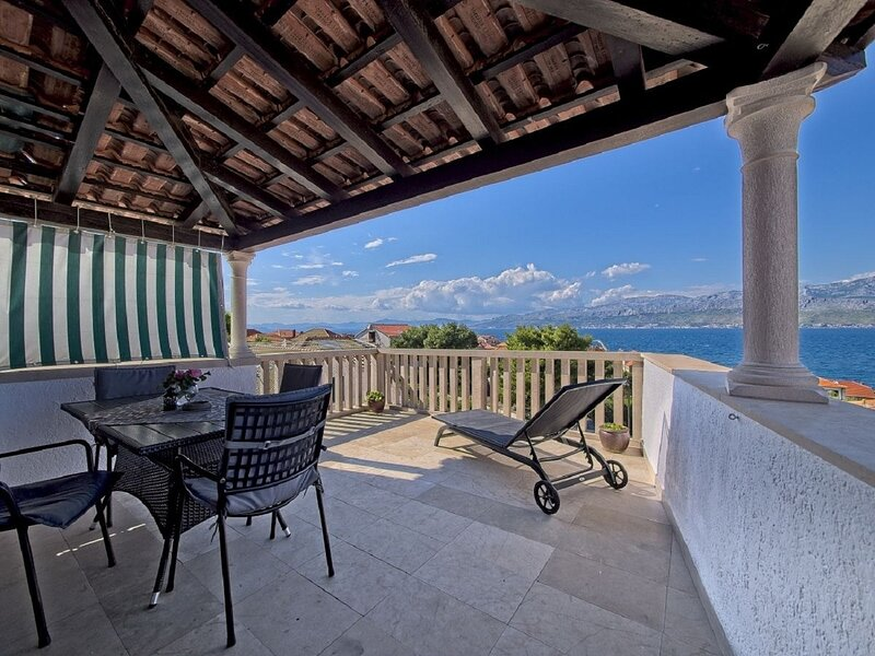 Jurica - Panoramic Sea view: A1(4) - Postira, holiday rental in Postira