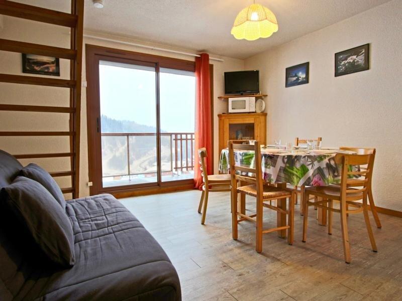 Appartement pied des pistes 3ème étage plein SUD, alquiler de vacaciones en Saint-Martin-d'Uriage