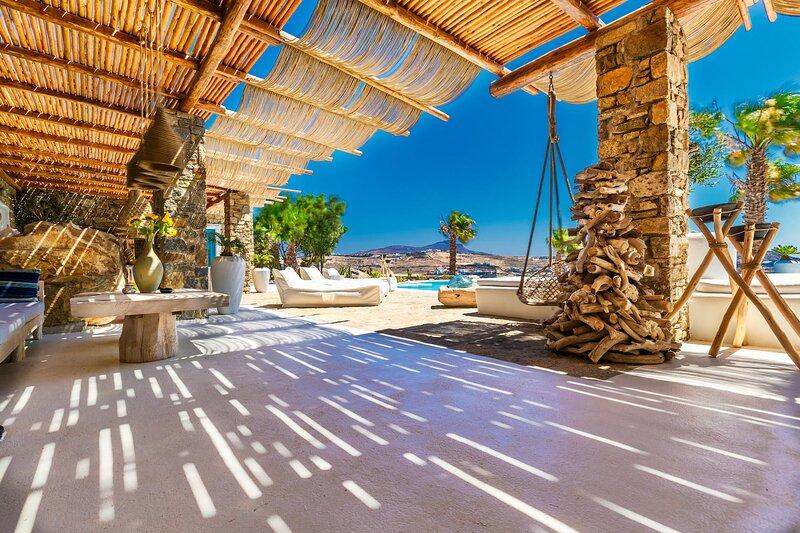 Villa Karkos | Private Pool | Stunning sea view, Ferienwohnung in Kalo Livadi