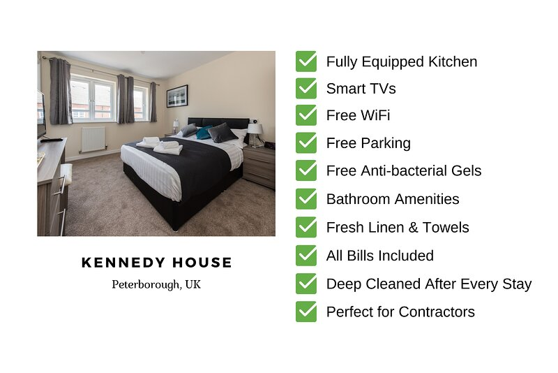 Kennedy House : 6 Bedroom Self Catering Contractor Accommodation