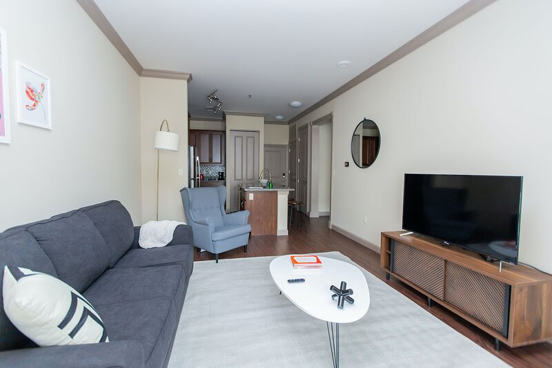 Kasa   St. Louis   Stunning 1BD/1BA Central West End Apartment, holiday rental in University City