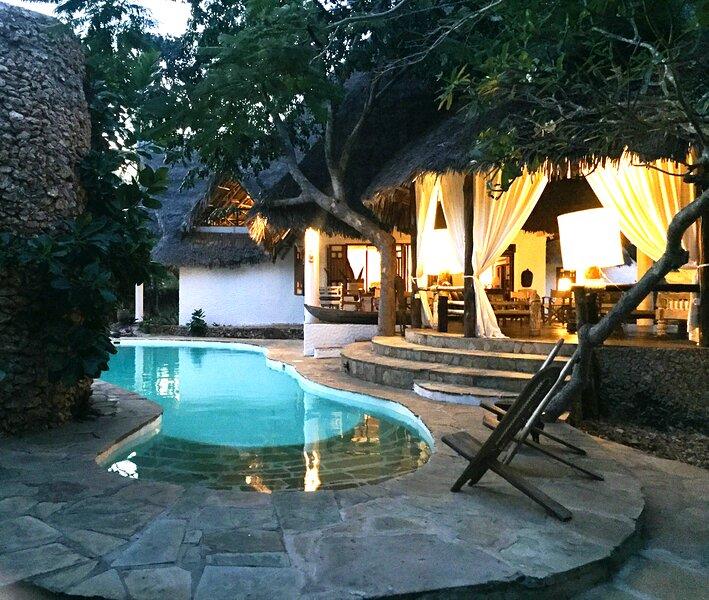 Simba Wa Kale Luxury Villa con piscina e parco tropicale | Malindi, holiday rental in Mambrui