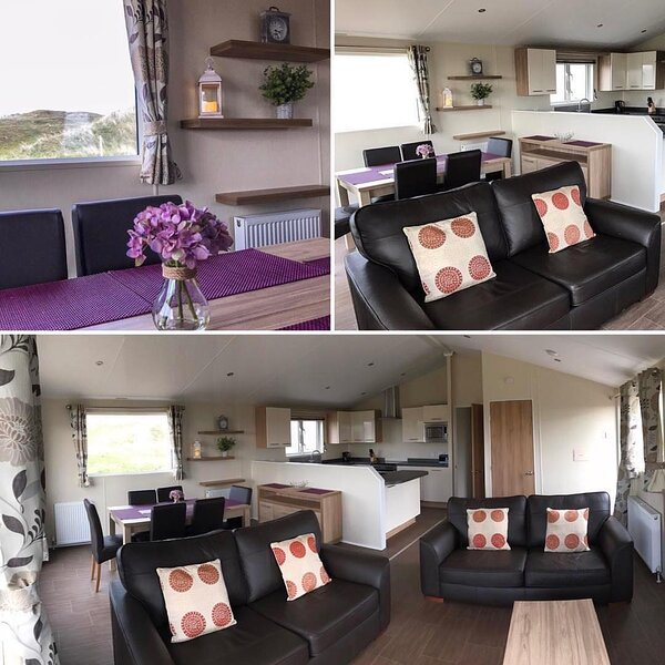 Lodge D (No Pets) - 6 Berth (Fairways) Self-Catering Accommodation Perranporth, holiday rental in Bolingey