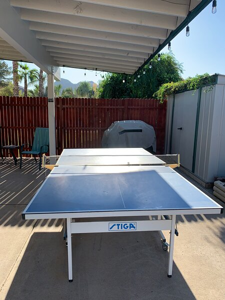 ping pong and BBQ