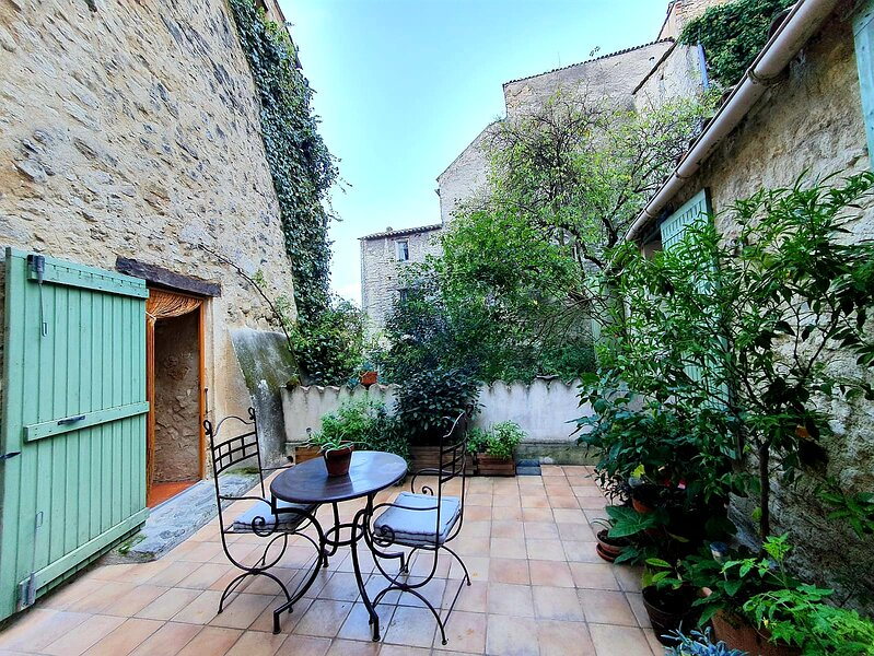 Charming stone house in the heart of the old town of Forcalquier, holiday rental in Niozelles