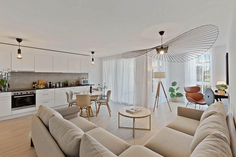 Design Furnishes Apartments, aluguéis de temporada em Rue