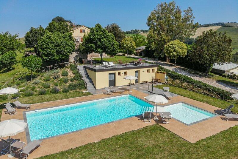 VILLA SOFFIO, vacation rental in Monte Giberto
