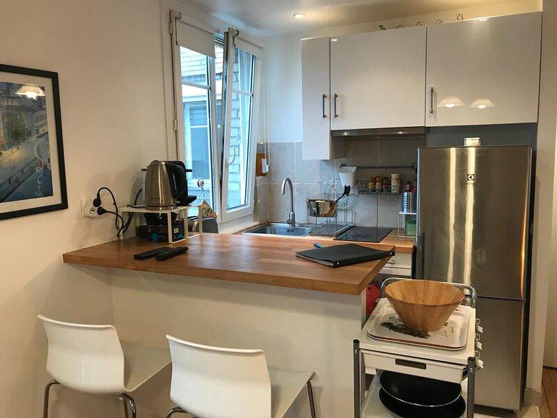 1 bedroom 36 sqm Porte de St Cloud, aluguéis de temporada em Boulogne-Billancourt