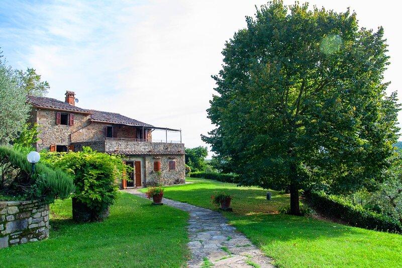 VILLA VAL DI ROSE 6, vacation rental in Lisciano Niccone