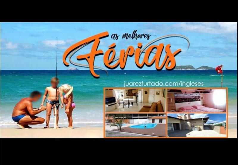 Cobertura TOP em INGLESES - ideal para famílias, alquiler de vacaciones en Praia Brava
