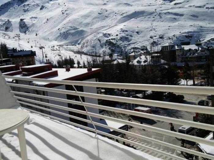 Apartamento Mont blanc con Terraza 505, alquiler de vacaciones en Pradollano