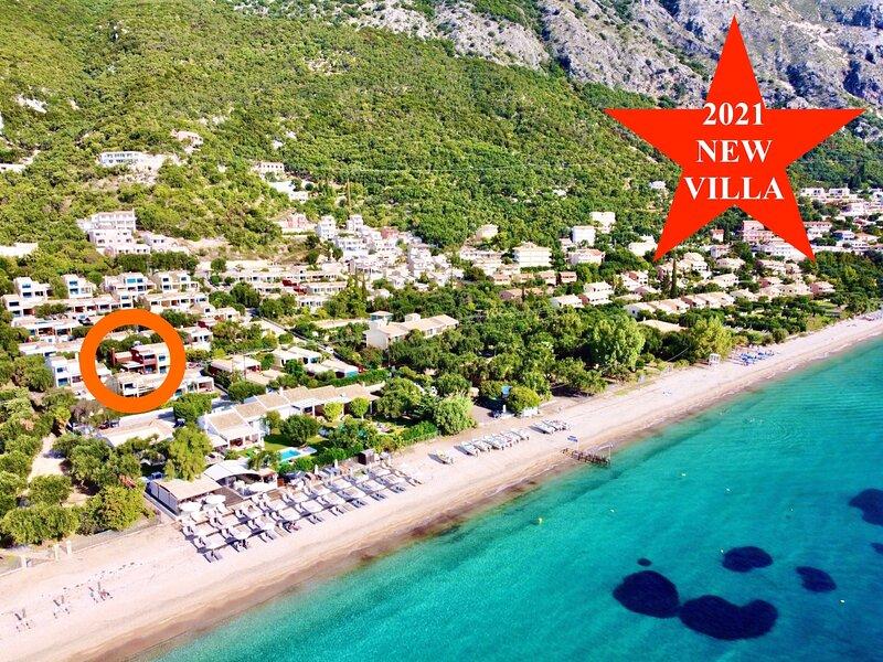 Barbati Alpha MiniVilla, vacation rental in Barbati