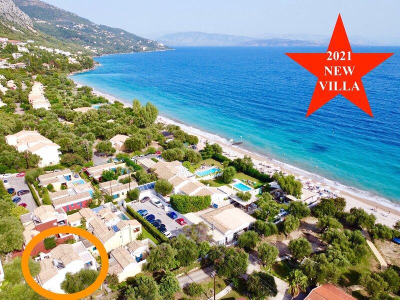 Barbati Gamma MiniVilla, vacation rental in Barbati