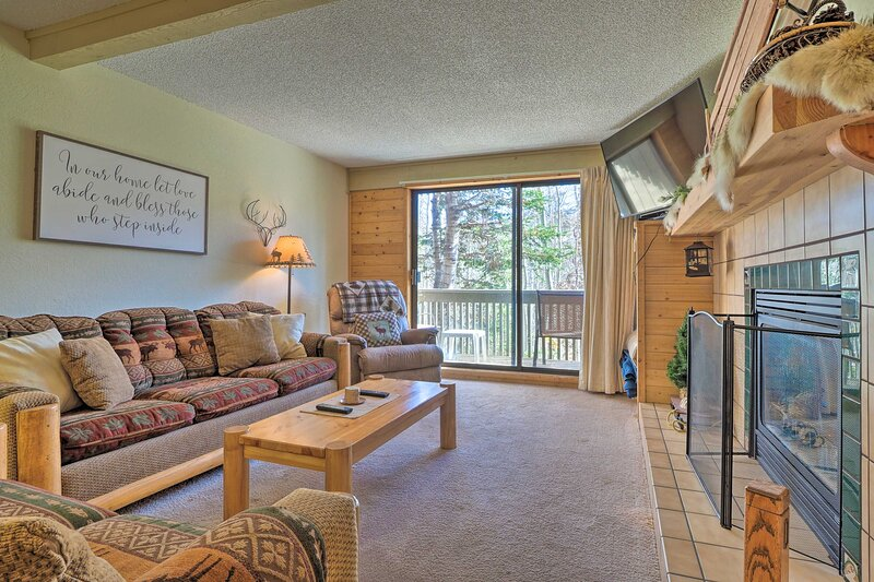 Brian Head Vacation Rental | 2 BR | 2 BA | Stairs Required | 1,000 Sq Ft