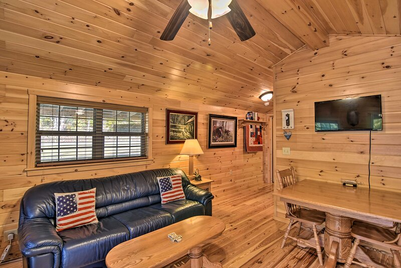 NEW! 'Anchors Away' Cabin Hideaway w/ Fire Pit!, vacation rental in Elkins