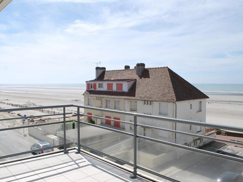 FORT MAHON PLAGE : Charmant appartement avec balcon donnant vue sur la mer., alquiler de vacaciones en Fort-Mahon-Plage