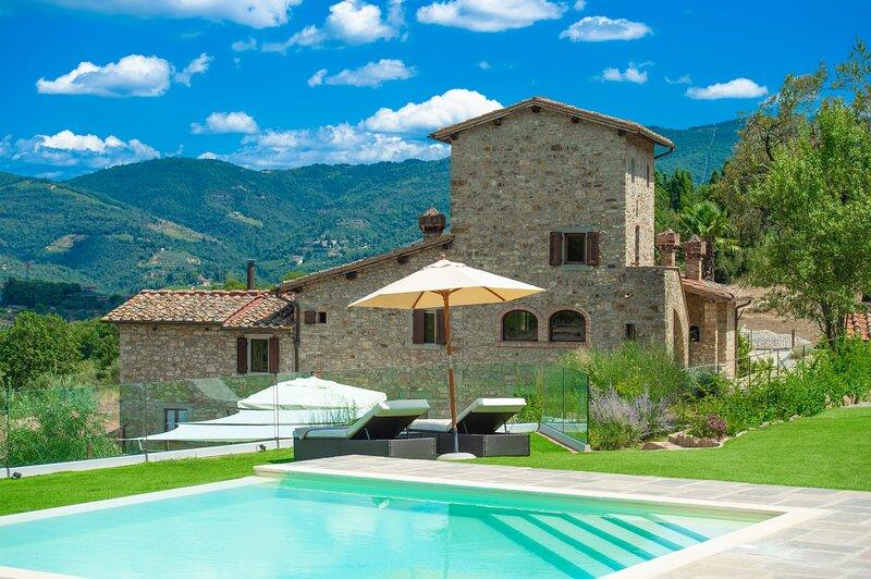 Villa il Vigneto, holiday rental in Lucarelli