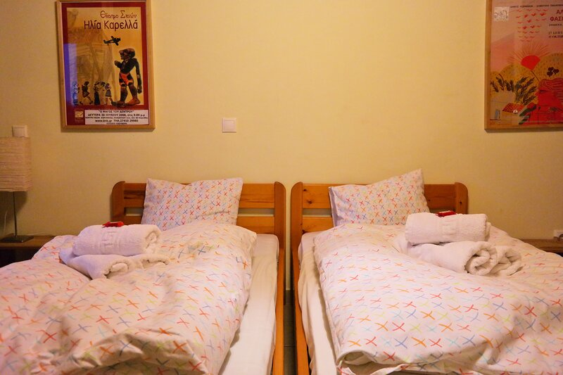 Double Room - Hostel Elisson, holiday rental in Galatas