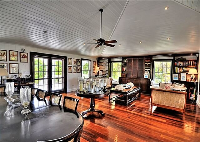 Private 10-Acre Beachfront Estate w/Heated Pool, Tennis Court, Walk to Tippys, holiday rental in Governor's Harbour