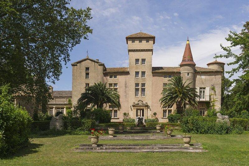 Chateau de Languedoc, aluguéis de temporada em Pinet