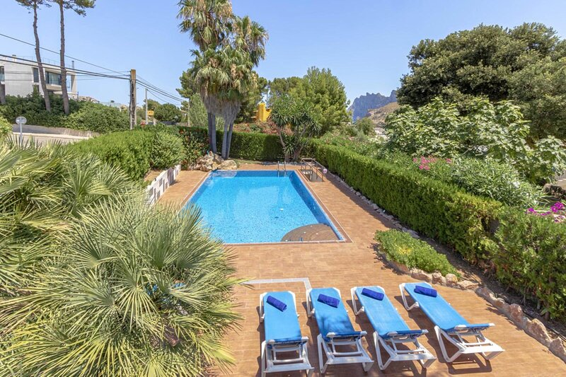 Villa - 3 Bedrooms with Pool and WiFi - 108754, holiday rental in Cala San Vincente