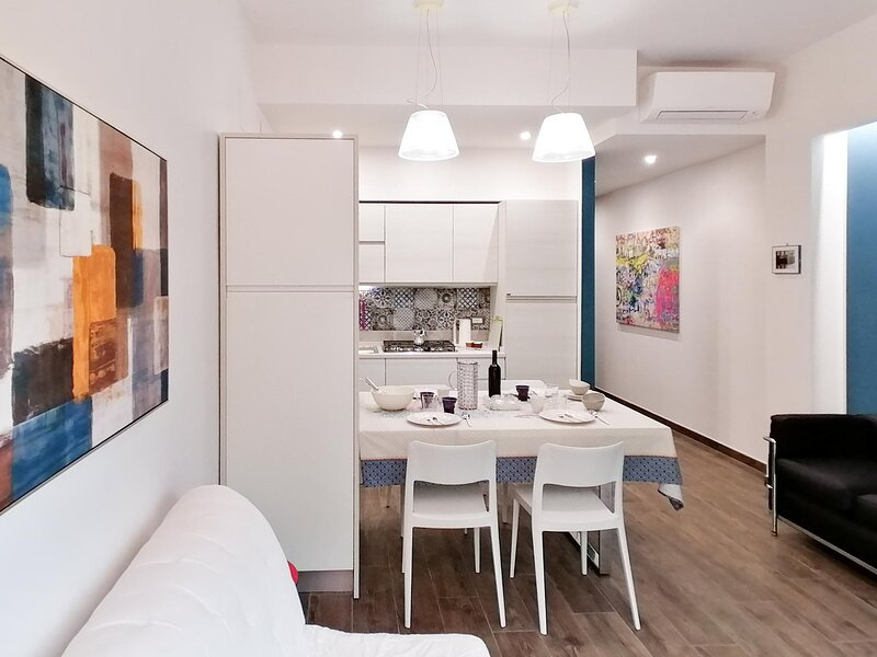 Moderno appartamento Sulmona | Civico 62 D'Andrea, aluguéis de temporada em Gagliano Aterno