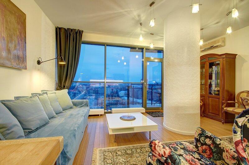 Helios City Vilnius Luxury Apartment, location de vacances à Trakai
